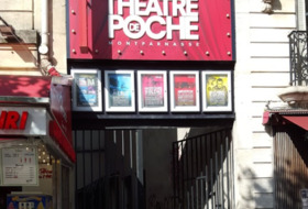 Parques de estacionamento Théâtre de Poche-Montparnasse em Paris - Ideal para espectáculos