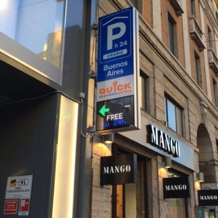 Parking Público QUICK BUENOS AIRES (Cubierto) Milano