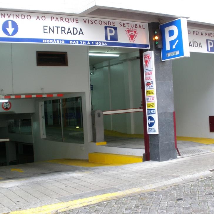 PARQUE VISCONDE DE SETUBAL Public Car Park (Covered) Porto