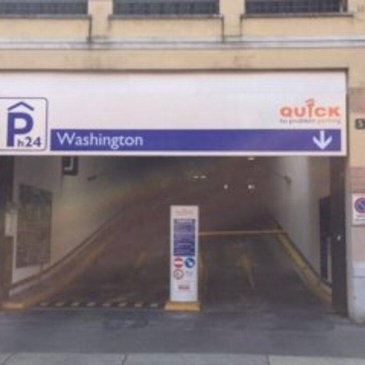 Estacionamento Público QUICK WASHINGTON MILANO (Exterior) Milano