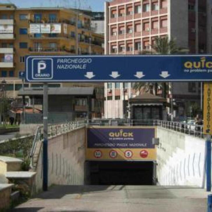Parking Público QUICK STAZIONE CENTRALE NAPOLI (Cubierto) Napoli