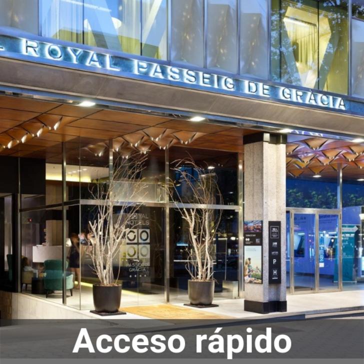Estacionamento Hotel ROYAL PASSEIG DE GRÀCIA (Coberto) Barcelona