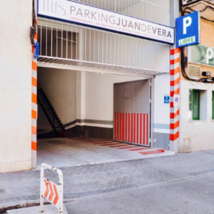 Öffentliches Parkhaus JUAN DE VERA (Überdacht) Madrid