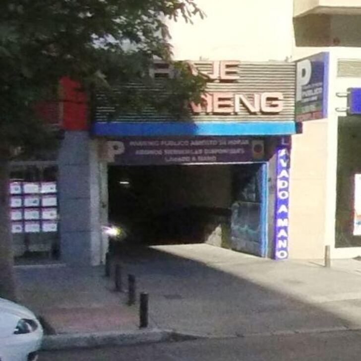 Parking Público GARAJE MENGO (Cubierto) Madrid