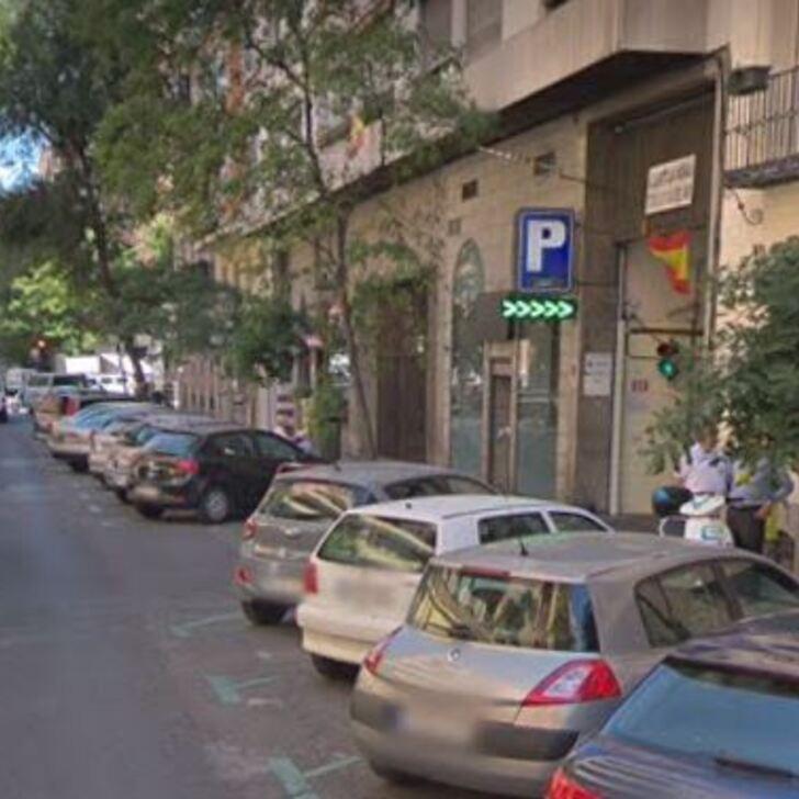 CASTELLO 98 Public Car Park (Covered) Madrid