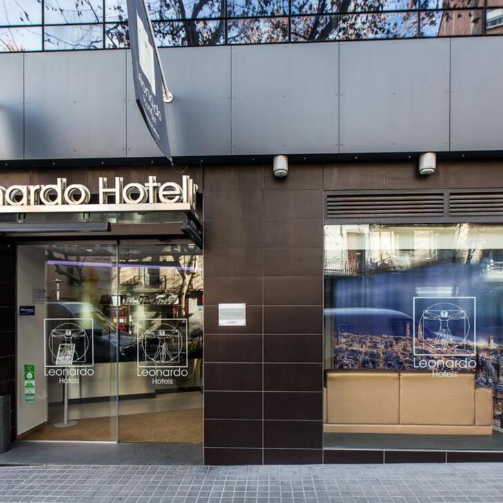 Parking Hotel LEONARDO BOUTIQUE HOTEL BARCELONA SAGRADA FAMILIA (Cubierto) Barcelona