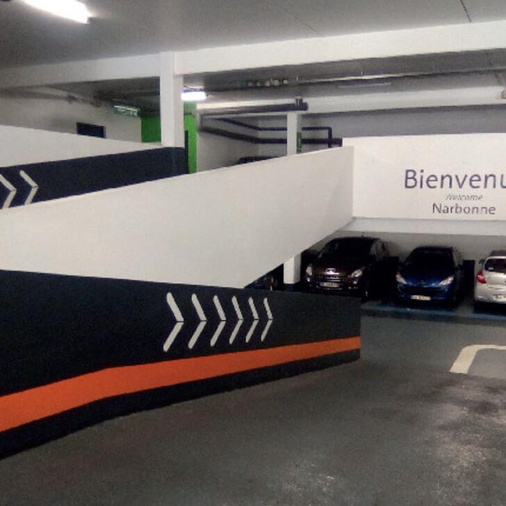 Parking Officiel EFFIA NARBONNE CATHÉDRALE (Couvert) NARBONNE