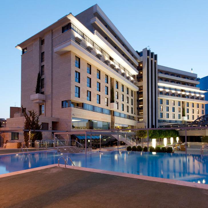 Estacionamento Hotel SANTOS NELVA (Coberto) Murcia