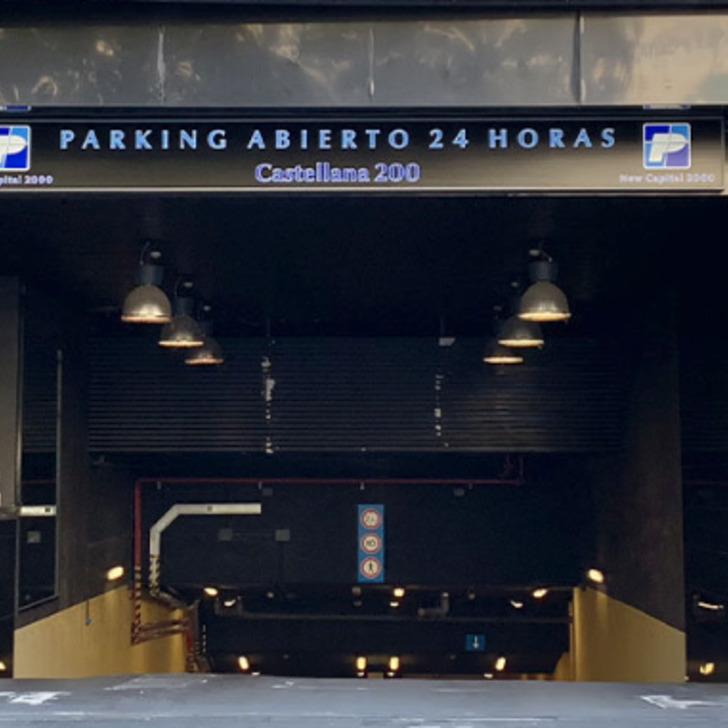 CASTELLANA 200 Openbare Parking (Overdekt) Madrid