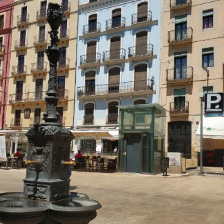 Parking Público PLAÇA DE LA FONT (Cubierto) Tarragona