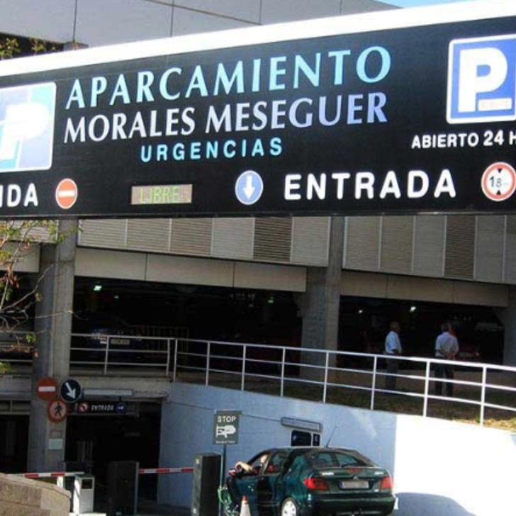 Parking Público HOSPITAL JOSE MARIA MORALES (Cubierto) Murcia