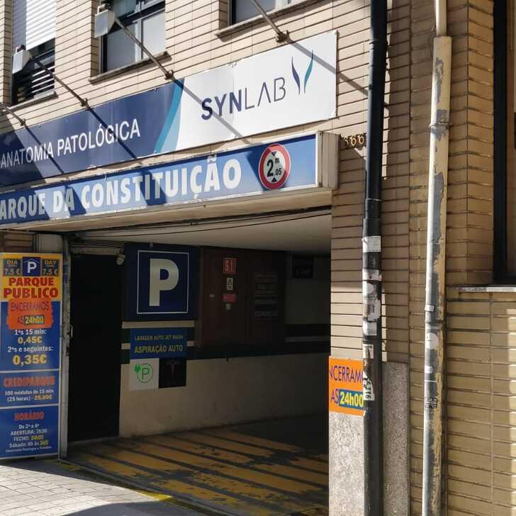 Parking Public PARQUE DA CONSTITUIÇÃO (Couvert) Porto