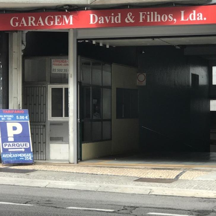 Öffentliches Parkhaus GARAGEM DAVID E FILHOS (Überdacht) Porto