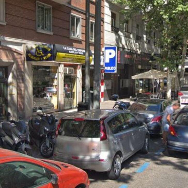 CEA BERMÚDEZ Openbare Parking (Overdekt) Madrid