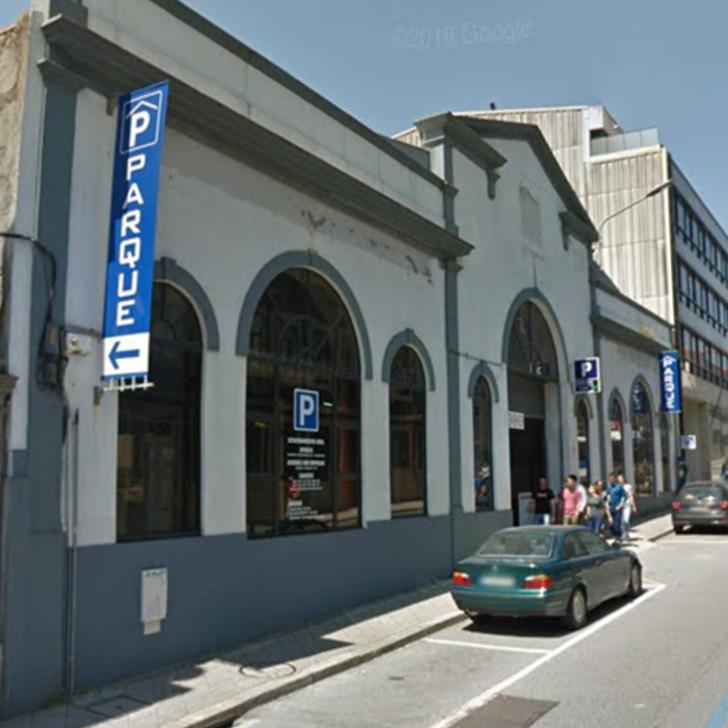 Parking Público PARQUE D. JOÃO IV ALVES DA VEIGA (Cubierto) Porto