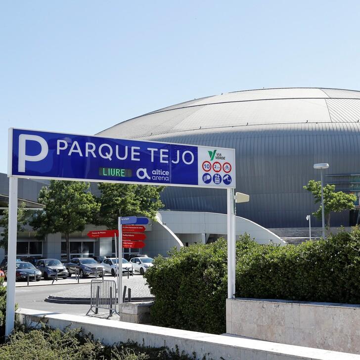 PARQUE TEJO - ALTICE ARENA Officiële Parking (Overdekt) Lisboa
