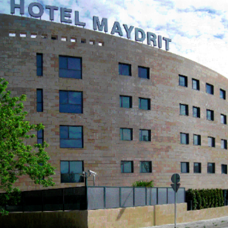 HOTEL SANTOS MAYDRIT AIRPORT Hotel Car Park (Covered) Madrid