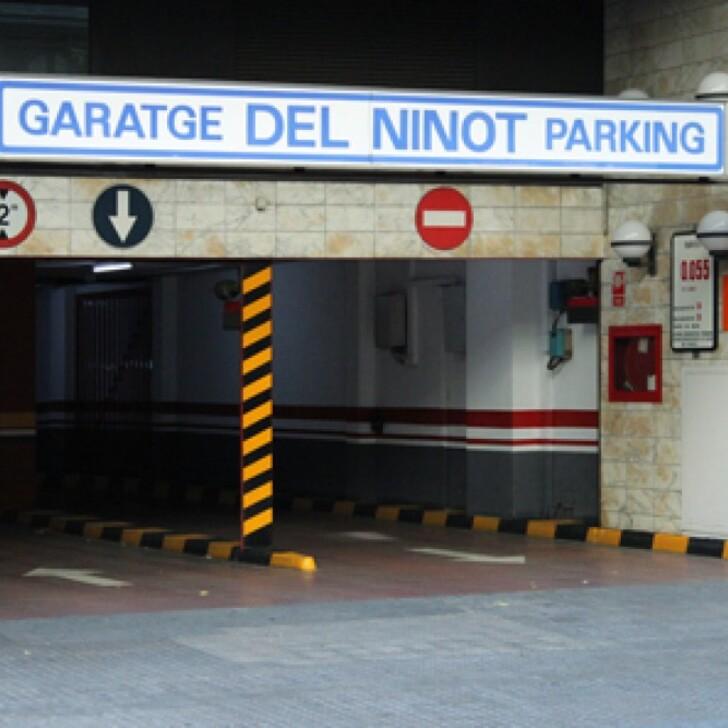 Estacionamento Público GARATGE DEL NINOT (Coberto) Barcelona