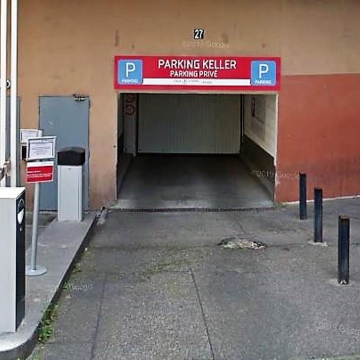 Estacionamento Edifício RUE DE L'INGENIEUR KELLER (Coberto) Paris