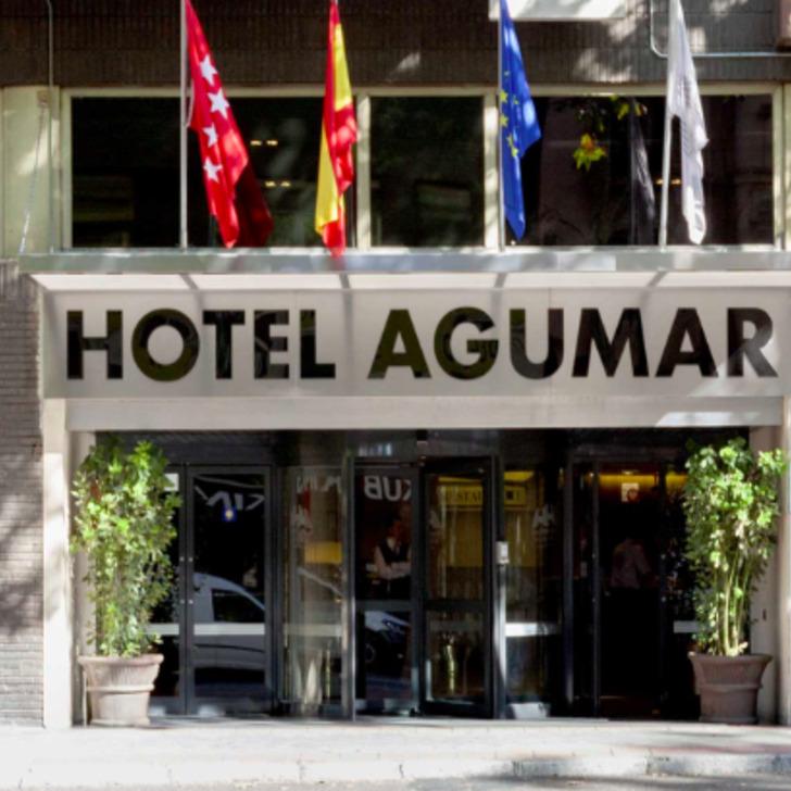 SANTOS AGUMAR ATOCHA Hotel Parking (Overdekt) Madrid