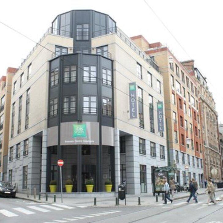 Parking Hôtel IBIS STYLES BRUSSELS CENTRE STEPHANIE (Couvert) Bruxelles