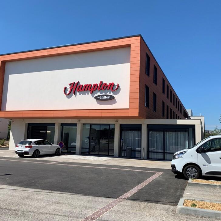 Parking Hotel HAMPTON BY HILTON TOULOUSE AIRPORT (Cubierto) Blagnac