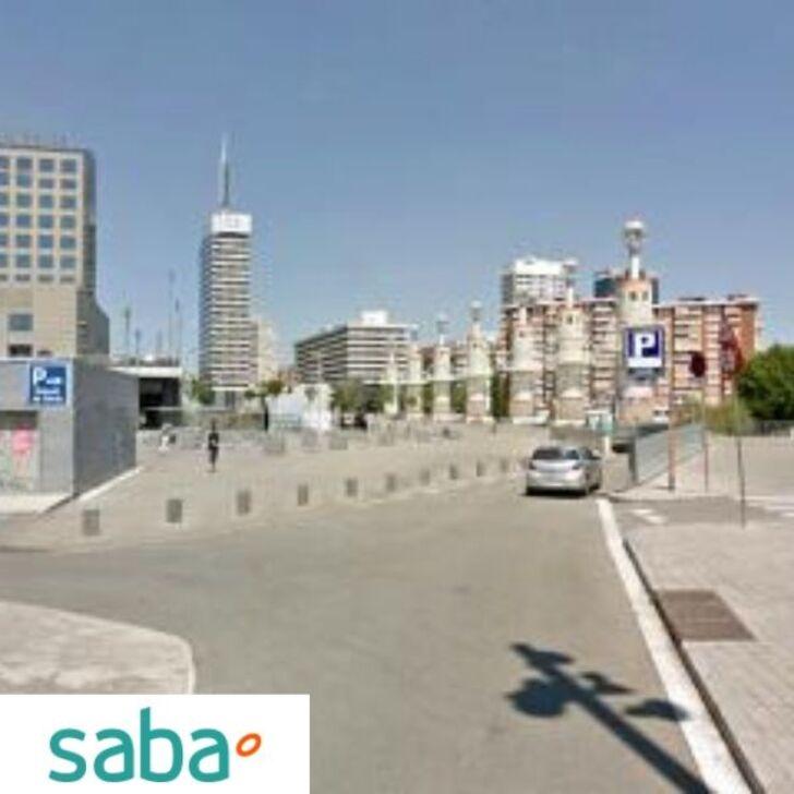 Parking Público SABA ESTACIÓN TREN BARCELONA - SANTS (Cubierto)  Barcelona
