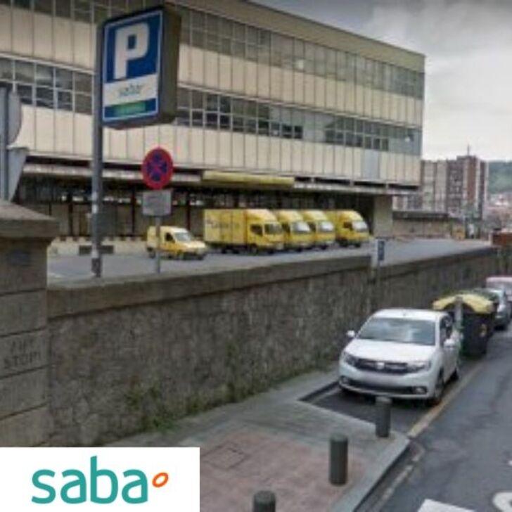 SABA ESTACIÓN TREN BILBAO Openbare Parking Weekendtarief (Exterieur) Bilbo