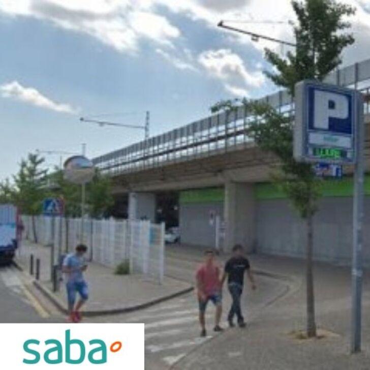 Estacionamento Público SABA ESTACIÓN TREN GIRONA (Coberto) Girona