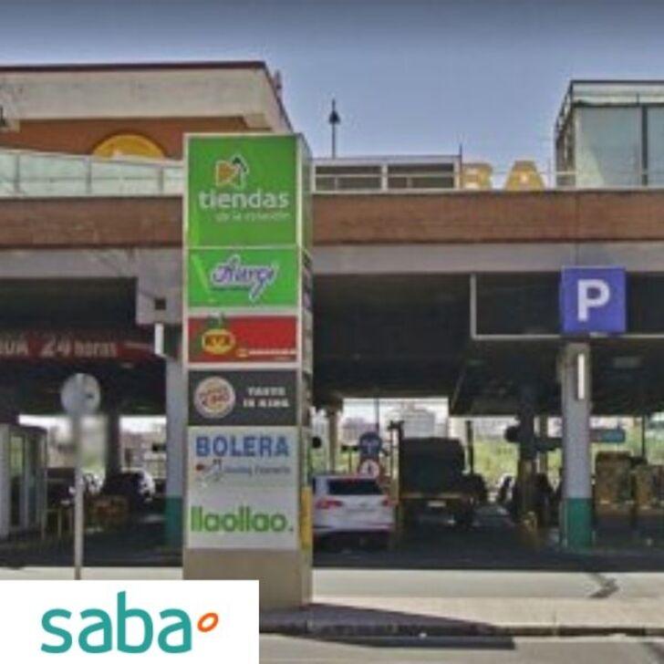 Estacionamento Público SABA ESTACIÓN TREN MADRID - CHAMARTÍN Tarifa de fim de semana (Coberto) Madrid