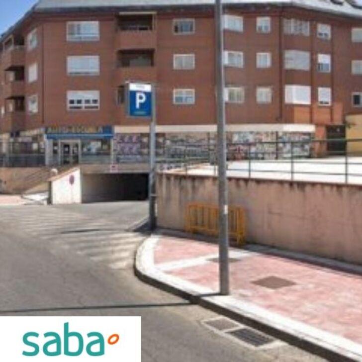 Parking Público SABA ESTACIÓN TREN VILLALBA (Cubierto) Collado - Villalba