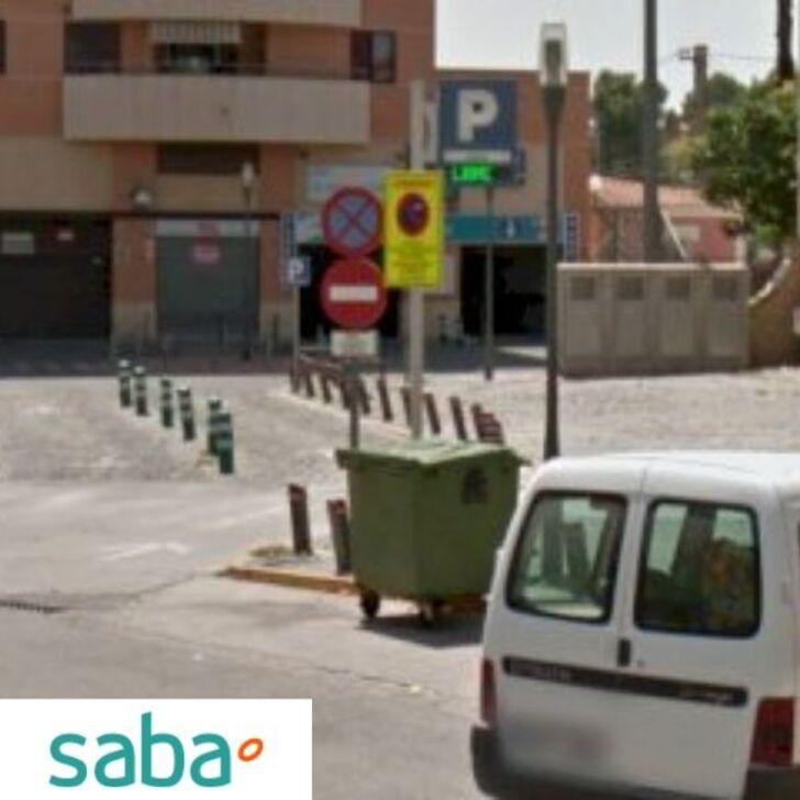 SABA ESTACIÓN TREN XÁTIVA Openbare Parking (Exterieur) Xátiva