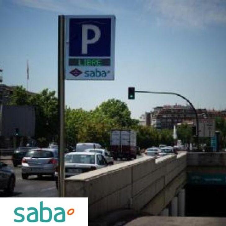 Estacionamento Público SABA METRO NUEVOS MINISTERIOS Tarifa de fim de semana (Coberto) Madrid