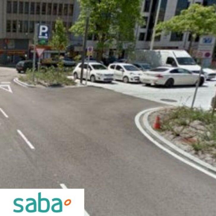 Parking Público SABA ESTACIÓN TREN SANTANDER Tarifa fin de semana (Cubierto) Santander