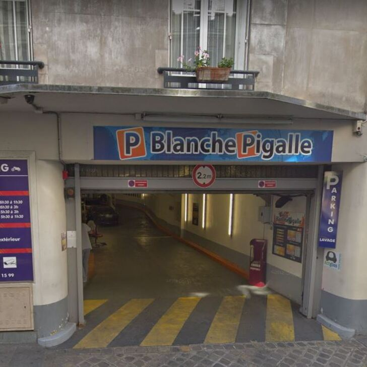 Parking Public BLANCHE PIGALLE (Couvert) Paris