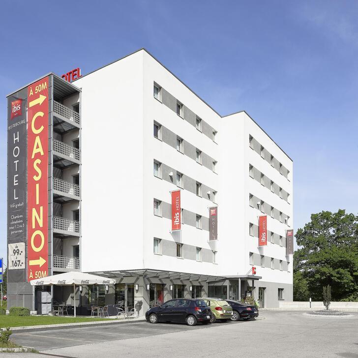 Estacionamento Hotel IBIS FRIBOURG (Coberto) Granges-Paccot
