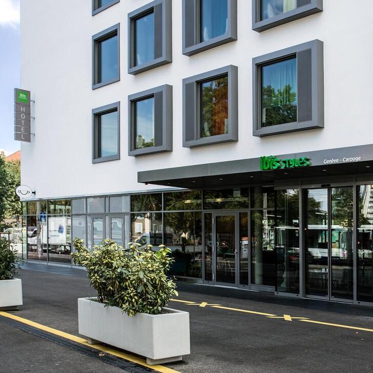 Estacionamento Hotel IBIS STYLES GENÈVE CAROUGE (Coberto) Carouge