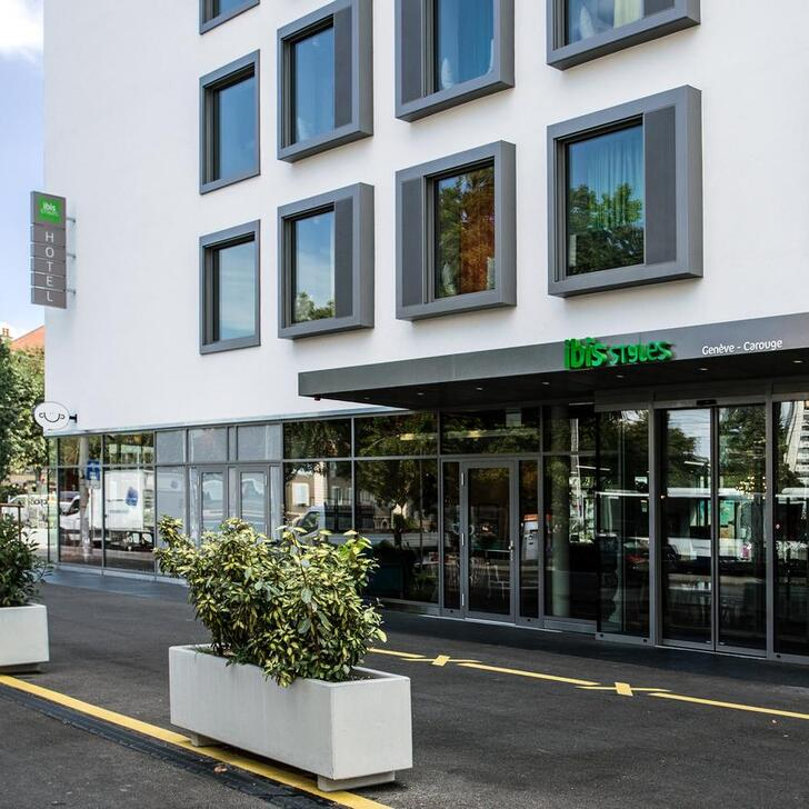 IBIS STYLES GENÈVE CAROUGE Hotel Car Park (Covered) Carouge