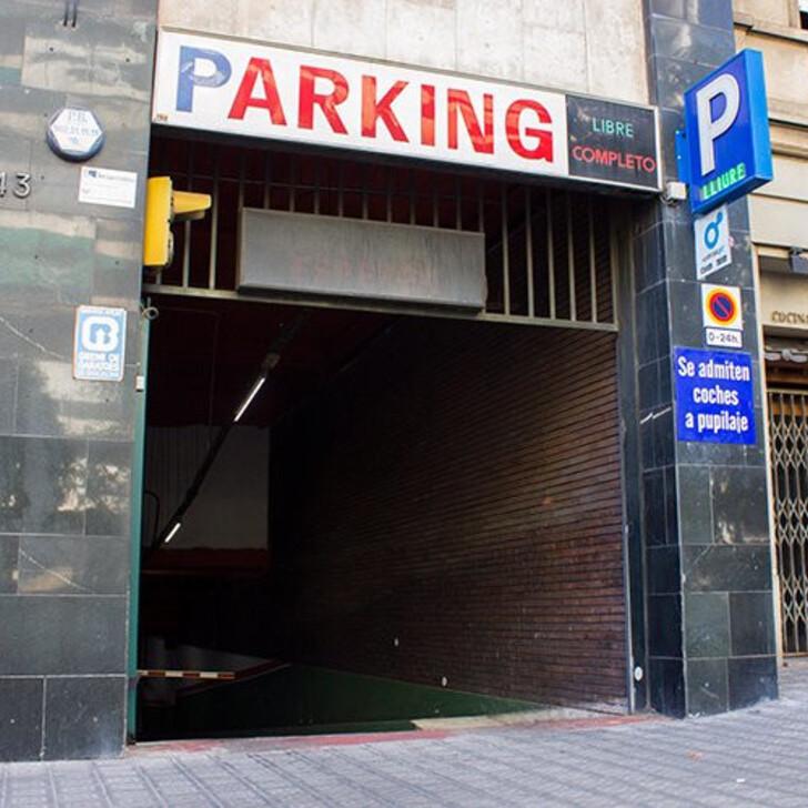 Parking Público PEGUERA (Cubierto) Barcelona