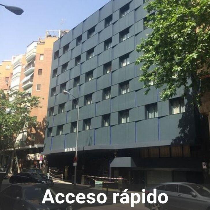 Estacionamento Hotel NYX MADRID (Coberto) Madrid