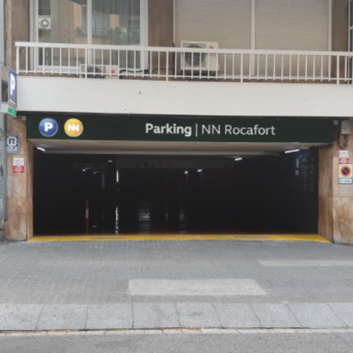 Parking Público N.N. ROCAFORT (Cubierto) Barcelona