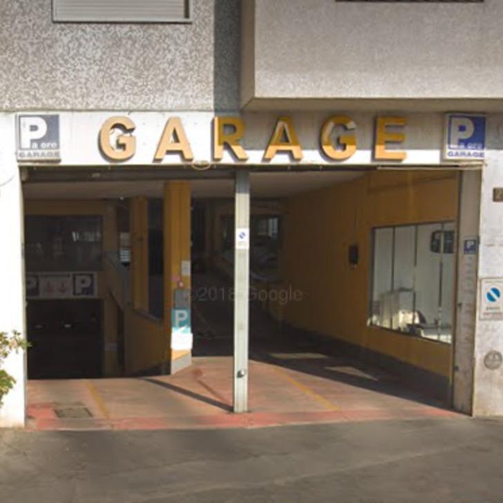 Parking Público GARAGE ZURETTI (Cubierto) Milano