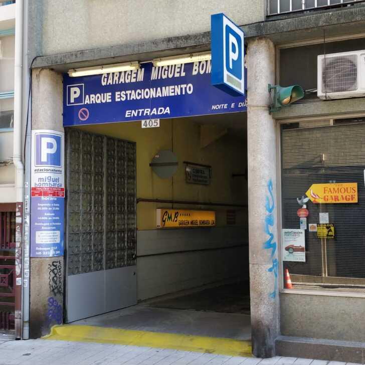 Parking Público GARAGEM MIGUEL BOMBARDA (Cubierto) Porto