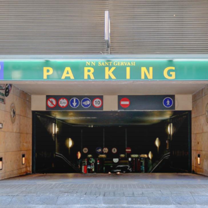 N.N. SANT GERVASI Openbare Parking (Overdekt) Barcelona