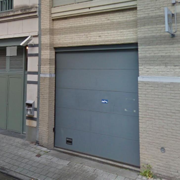 GODECHARLE, PARLEMENT EUROPÉEN Building Car Park (Covered) Bruxelles
