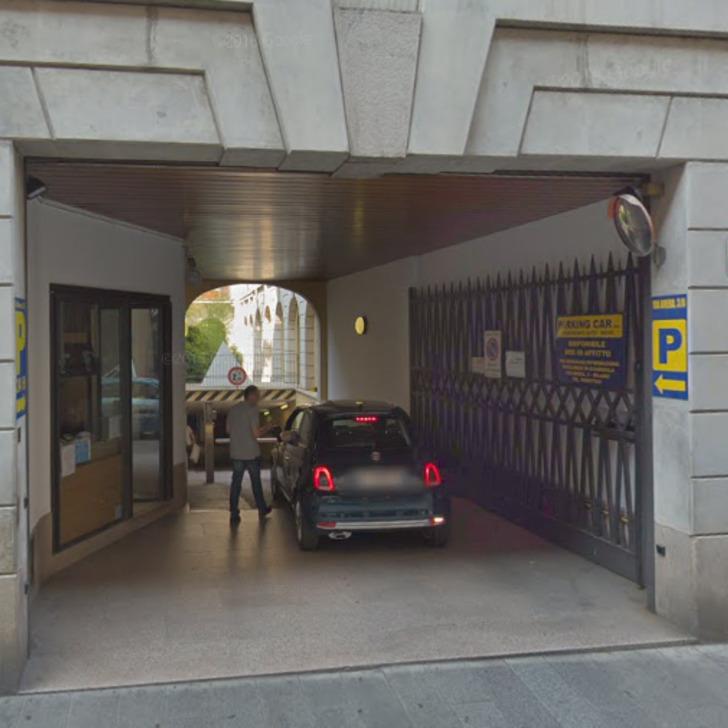 Parking Public BRERA PARKING CAR (Couvert) Milano