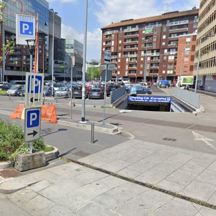 Parking Público CORVETTO PARKING CAR (Cubierto) Milano