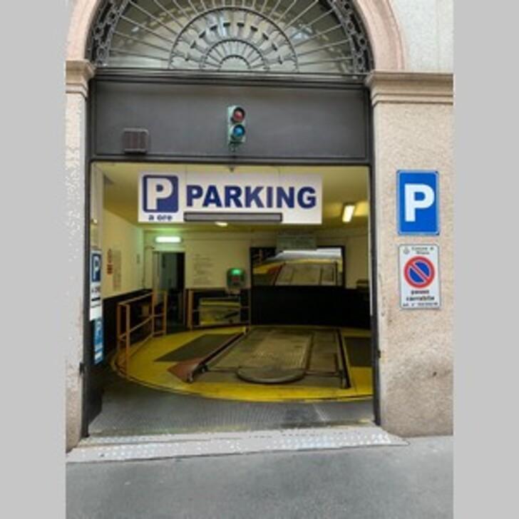 Parking Público DUOMO PARKING CAR (Cubierto) Milano