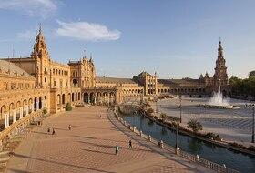 Parking Plaza de España Sevilla en Sevilla : precios y ofertas - Parking de centro-ciudad | Onepark