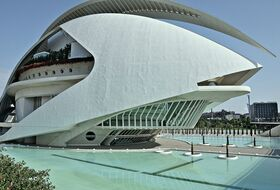 Palau de les Arts Reina Sofia (Opera) car parks in Valencia - Book at the best price